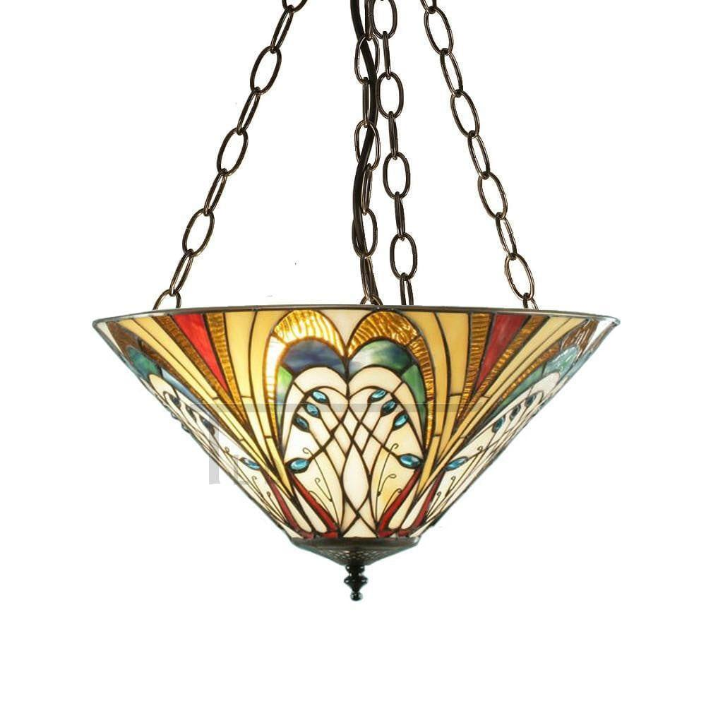 Inverted Ceiling Pendant Lights - Hector Medium 3 Light Inverted Pendant Ceiling Light 70750