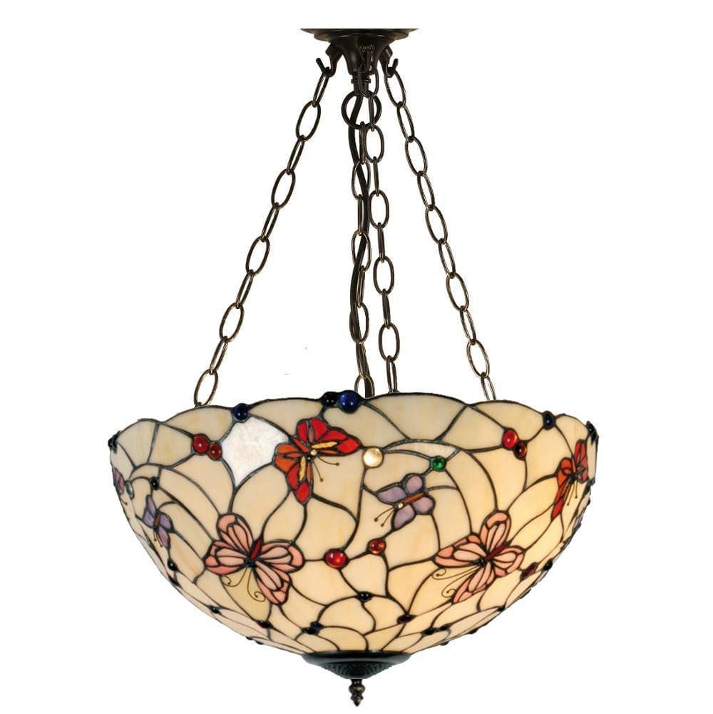 Inverted Ceiling Pendant Lights - London Inverted Pendant Light (adjustable Chain)