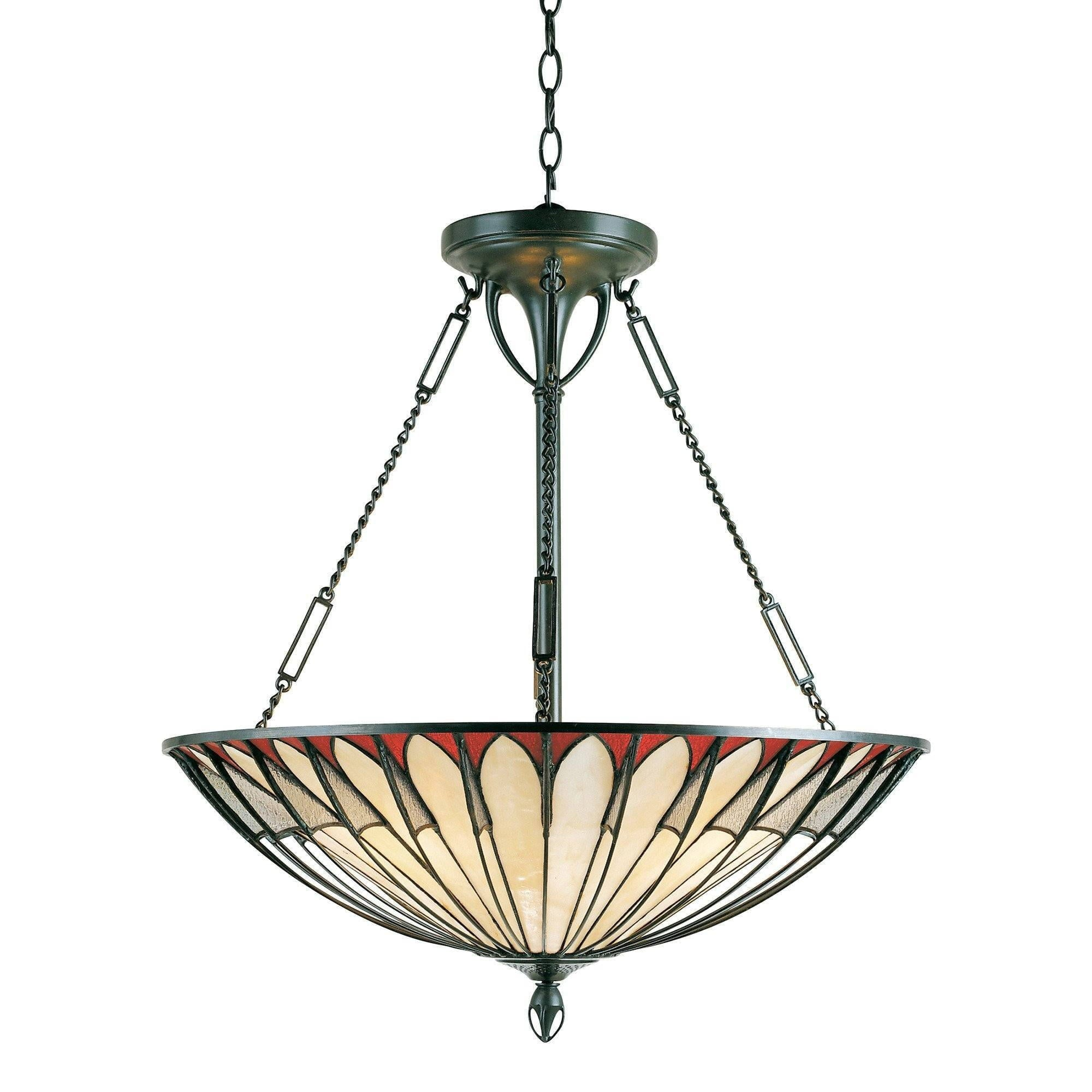 Alahambre inverted tiffany ceiling light tiffany inverted ceiling pendant lights quoizel tiffany alahambre inverted pendant light qzalahambre aloadofball Gallery