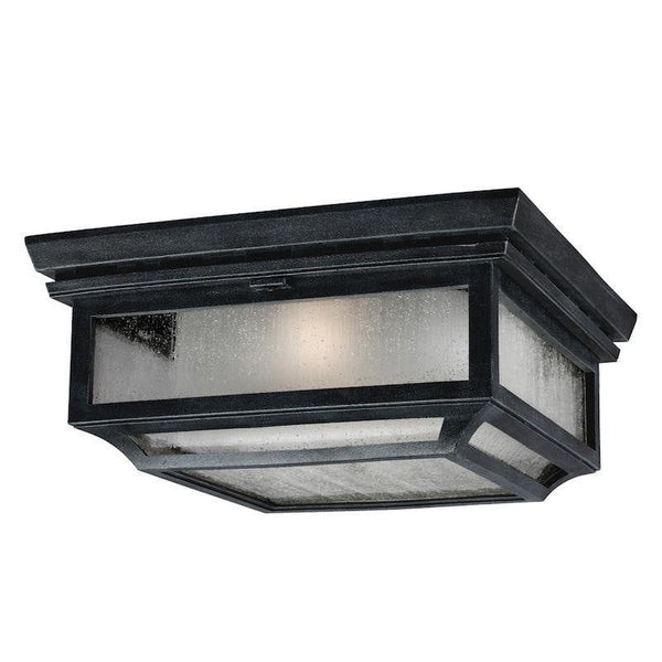 Feiss Shepherd Outdoor Flush Light by Elstead Outdoor Lighting