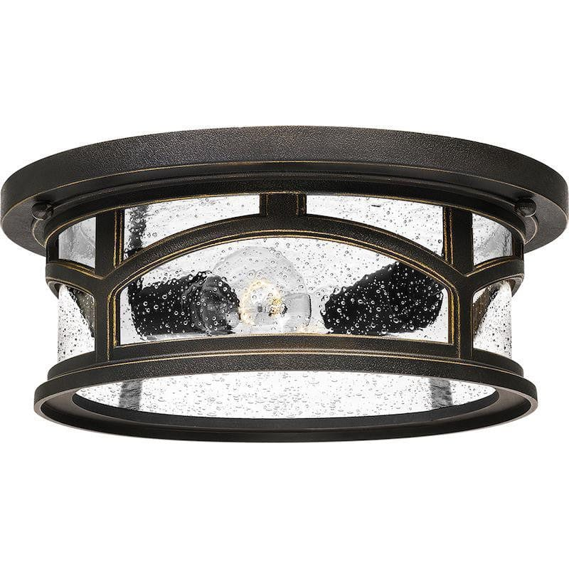 Quoizel Marblehead Outdoor Flush Light by Elstead Outdoor Lighting