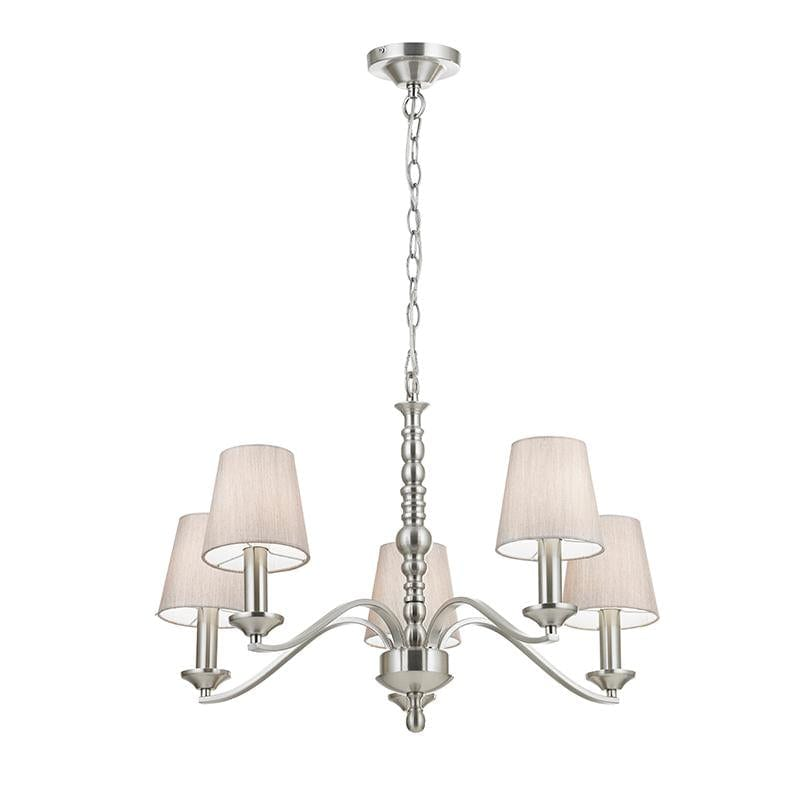 Astaire 5lt Pendant by Endon Lighting