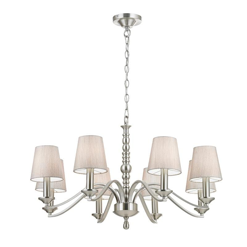 Astaire 8lt Pendant by Endon Lighting