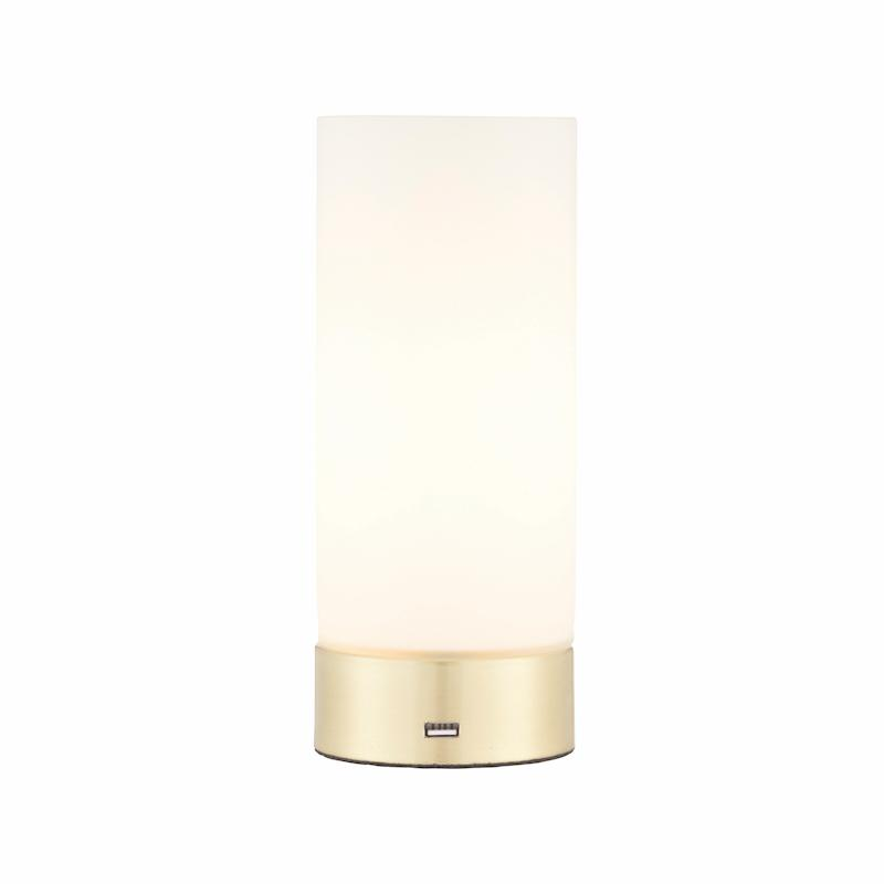 Dara 1lt Brass Table Lamp by Endon Lighting