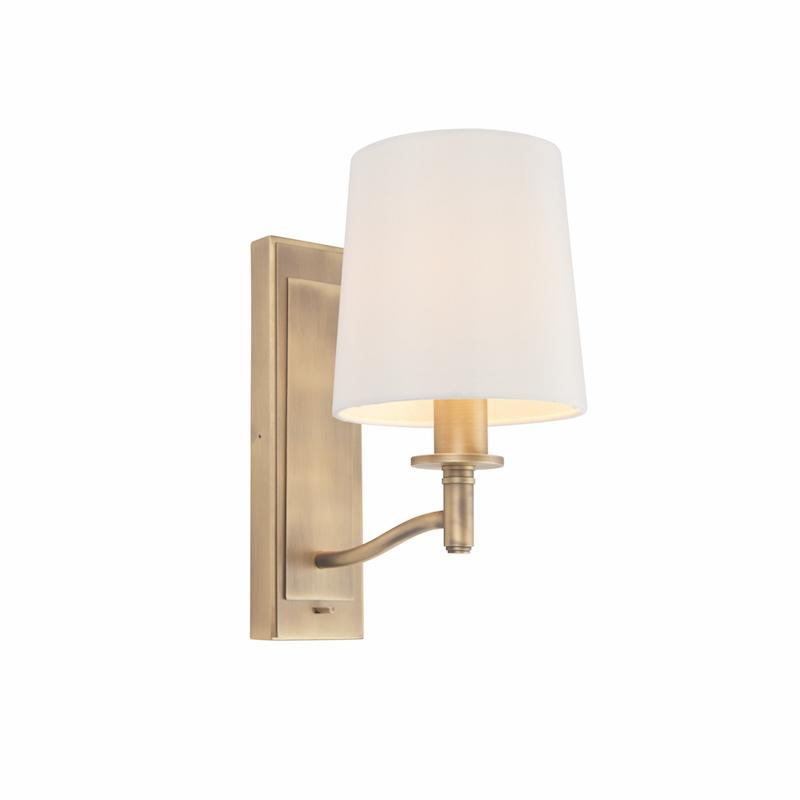 Ortona 1lt Wall Light by Endon Lighting