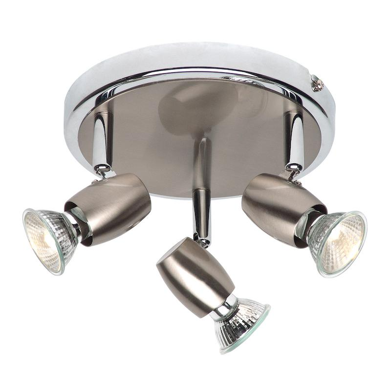 Palermo 3lt Spotlight by Endon Lighting