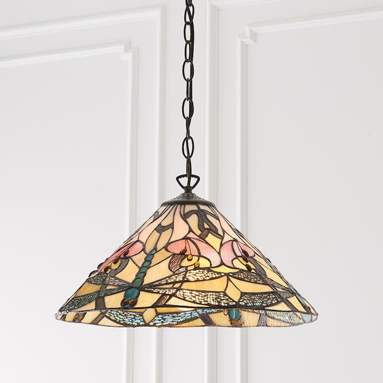 Ashton Tiffany Ceiling Light