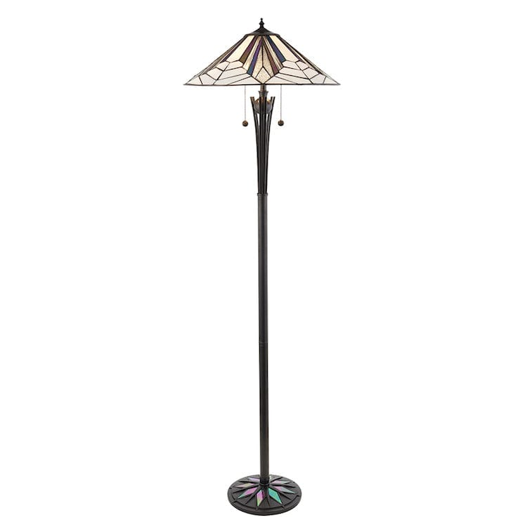 Tiffany Floor Lamps - Astoria Tiffany Floor Lamp 63934