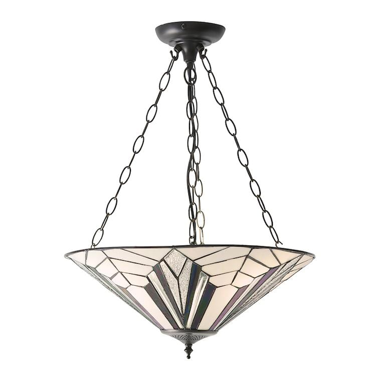 Tiffany Ceiling Light - Astoria Inverted Ceiling Light 63936