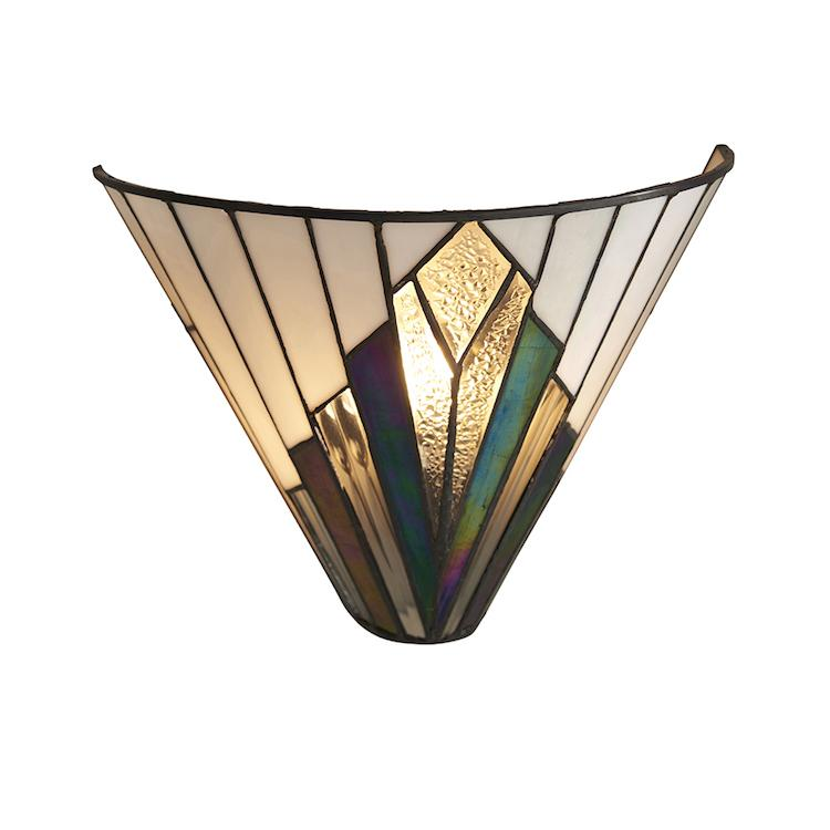 Tiffany Wall Lights - Astoria Tiffany Wall Light 63940 1