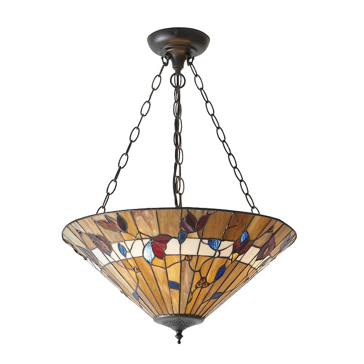 Inverted Ceiling Pendant Lights - Bernwood Large 3 Light Inverted Pendant Light 63949