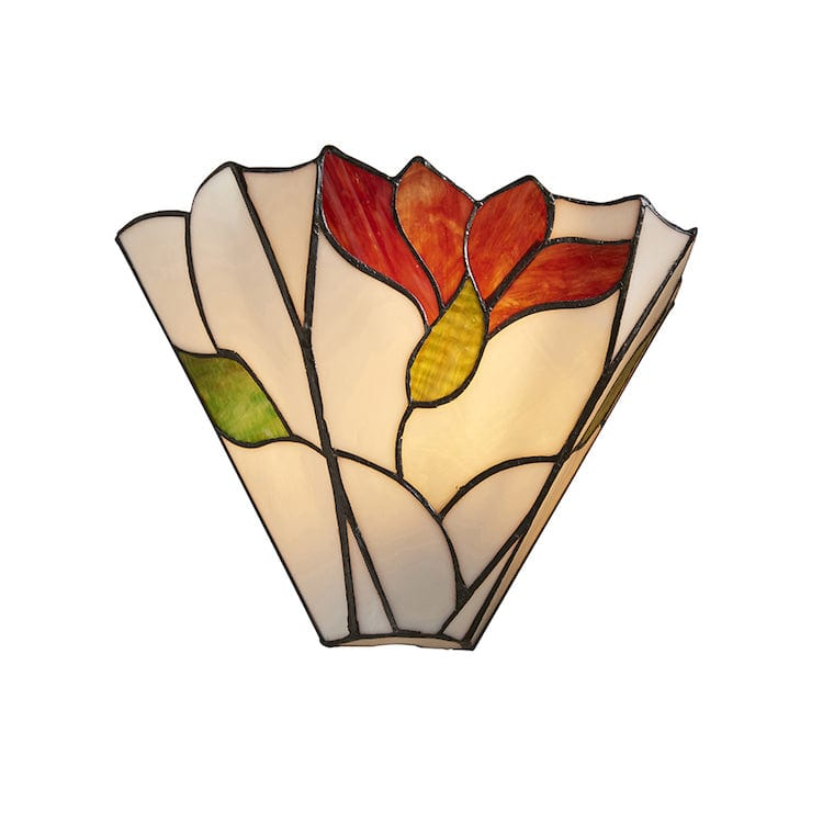 Tiffany Wall Lights - Botanica Tiffany Wall Light 63964