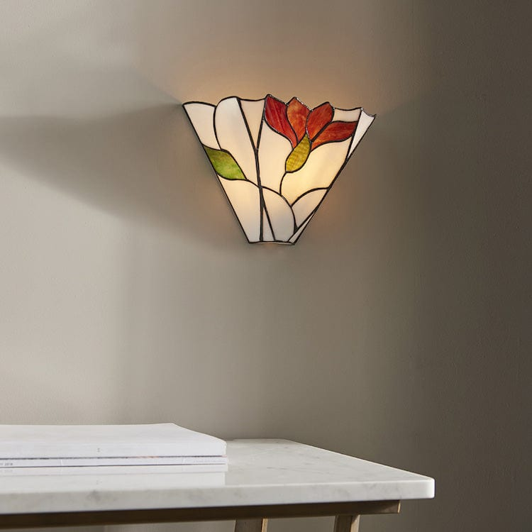 Botanica Tiffany Wall Light 63964