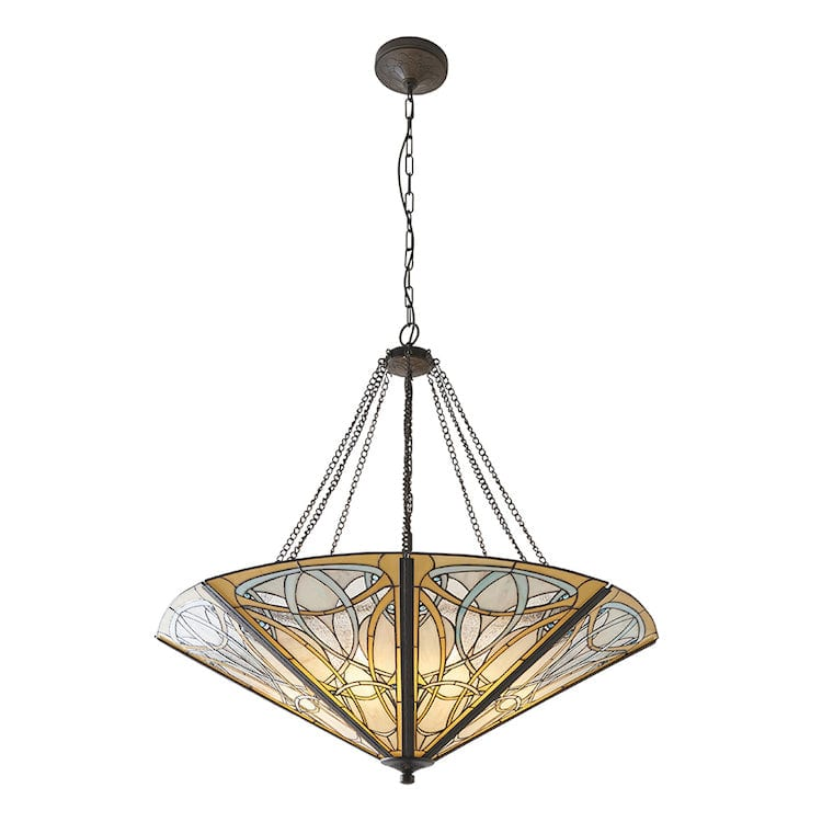 Inverted Ceiling Pendant Lights - Dauphine Mega 8 Light Inverted Pendant 64053