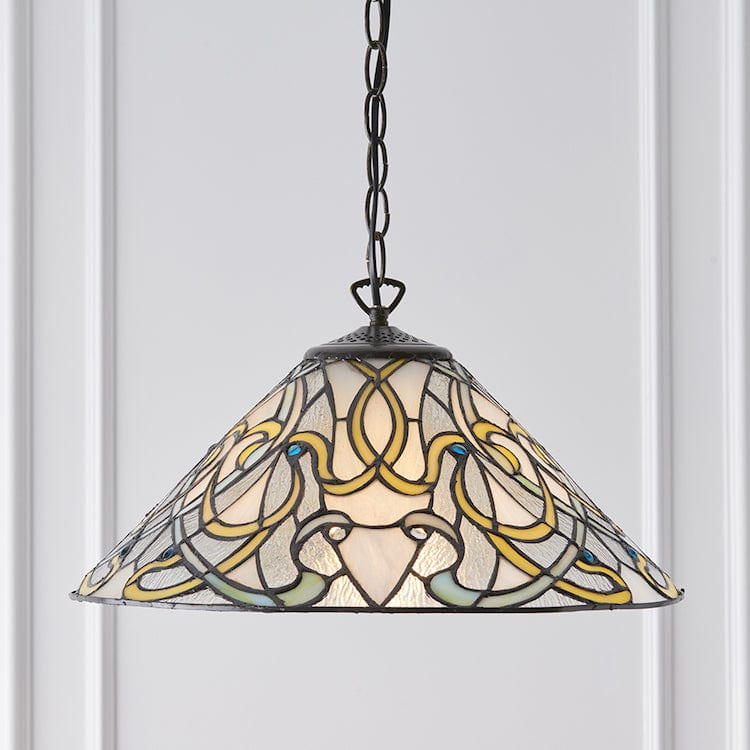Dauphine Tiffany Ceiling Light 1 bulb fitting