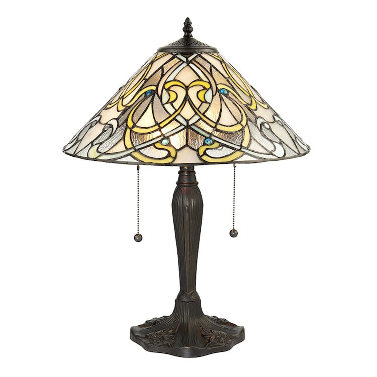 Large Tiffany Lamps - Dauphine Tiffany Lamp 64055