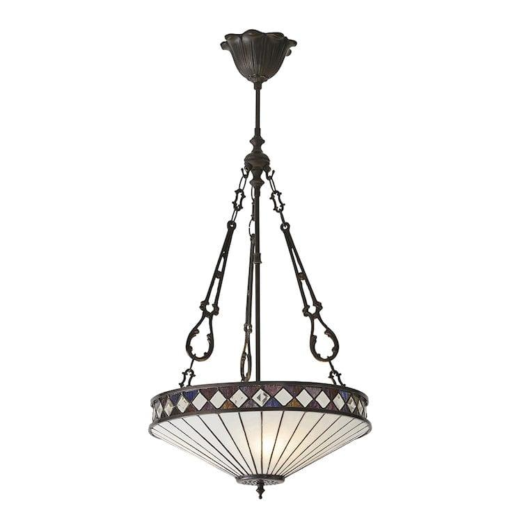 Inverted Ceiling Pendant Lights - Fargo Medium Inverted 3 Light Pendant Light 64146