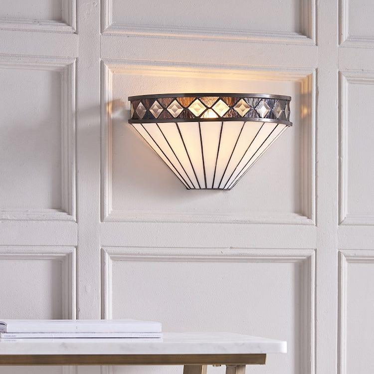 Tiffany Wall Lights - Fargo Tiffany Wall Light 64149