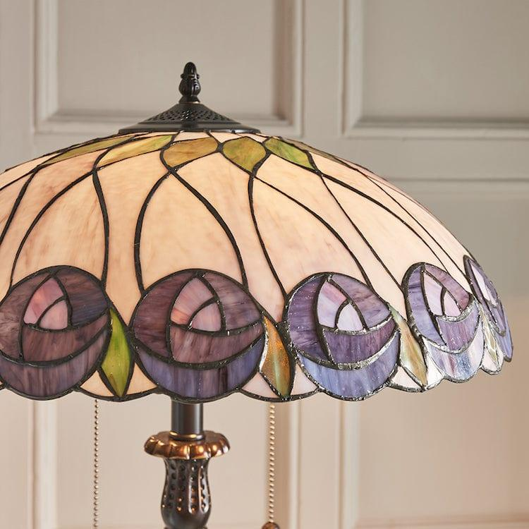 Tiffany Floor Lamps - Hutchinson Tiffany Floor Lamp 64172