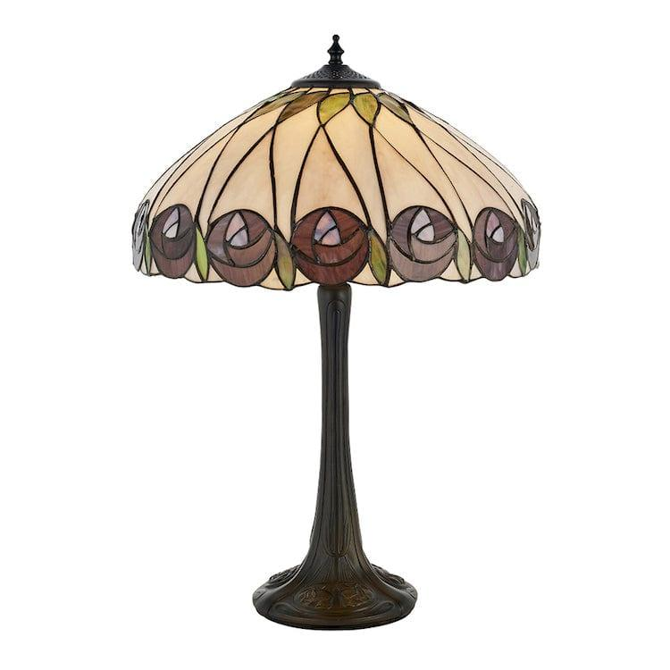 Large Tiffany Lamps - Hutchinson Tiffany Lamp 64177