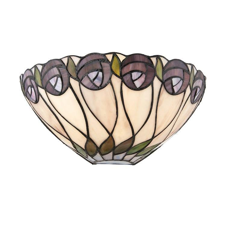 Tiffany Wall Lights - Hutchinson Tiffany Wall Light 64178