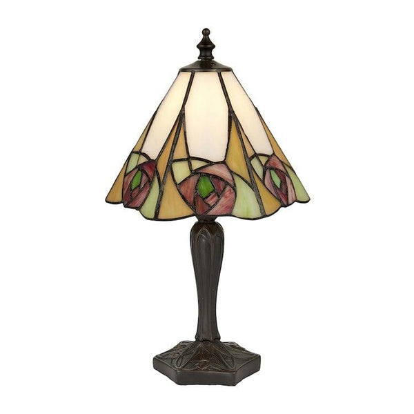 Tiffany Bedside Lamps - Ingram Small Tiffany Table Lamp 64185