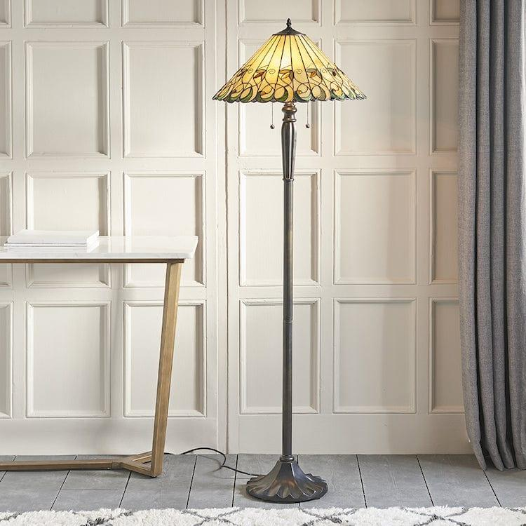 Jamelia Tiffany Floor Lamp 64192