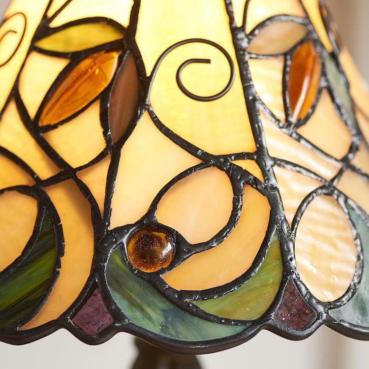 Jamelia Intermediate Tiffany Lamp 64196