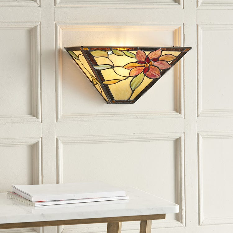 Tiffany Wall Lights - Lelani Tiffany Wall Light 64231