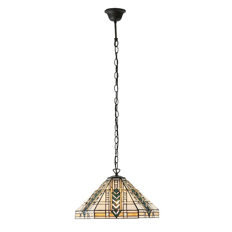 Lloyd Medium Tiffany Ceiling Light,1 bulb fitting