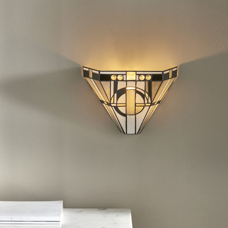 Tiffany Wall Lights - Metropolitan Tiffany Wall Light 64267
