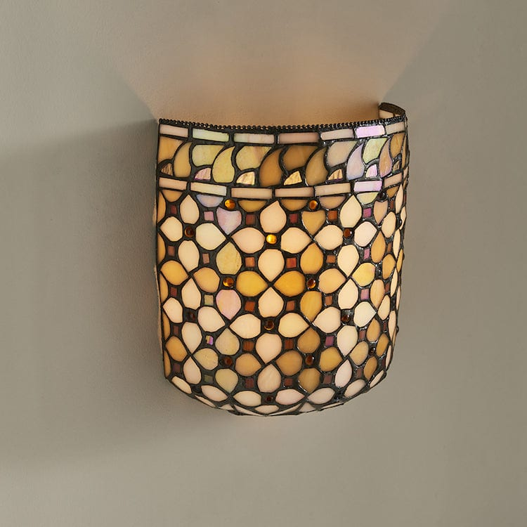 Mille Feux Tiffany Wall Light 64280