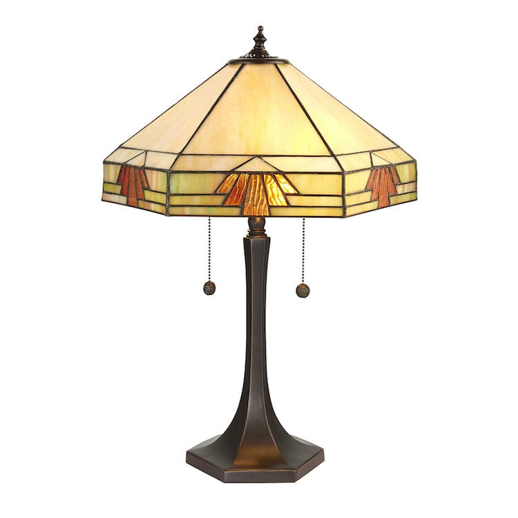 Large Tiffany Lamps - Nevada Tiffany Lamp 64286