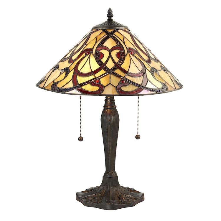 Large Tiffany Lamps - Ruban  Tiffany Lamp 64321