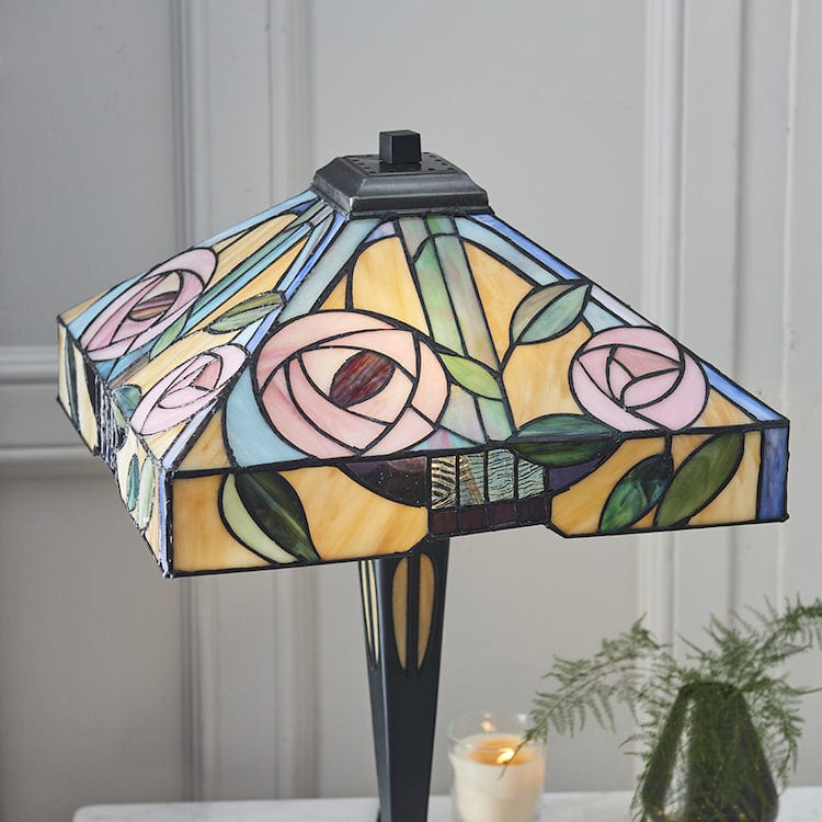 Large Tiffany Lamps - Willlow Tiffany Lamp 64387