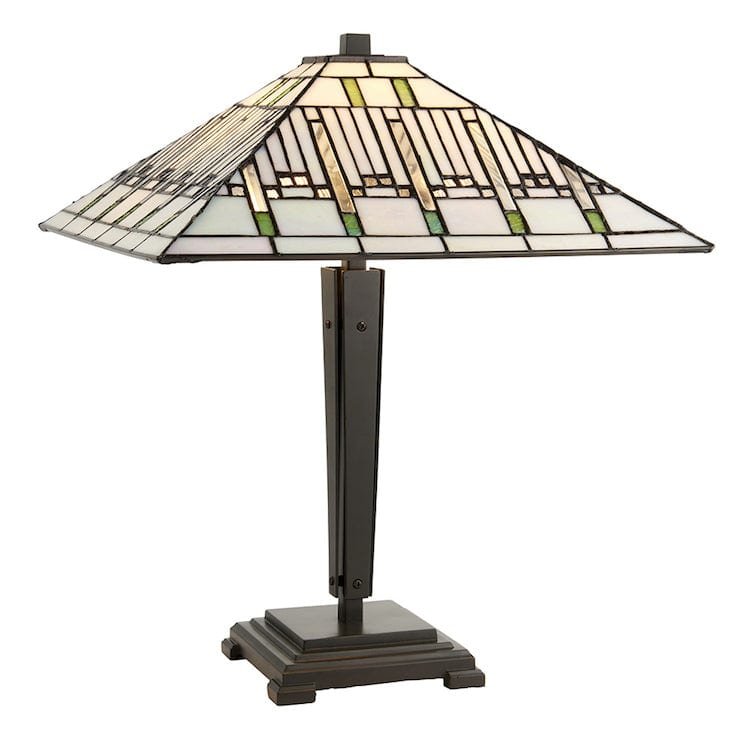 Large Tiffany Lamps - Mission Tiffany Lamp 70378