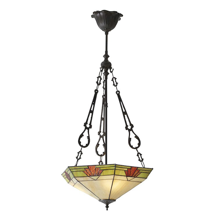 Inverted Ceiling Pendant Lights - Nevada Large 3 Light Inverted Pendant Ceiling Light 70739