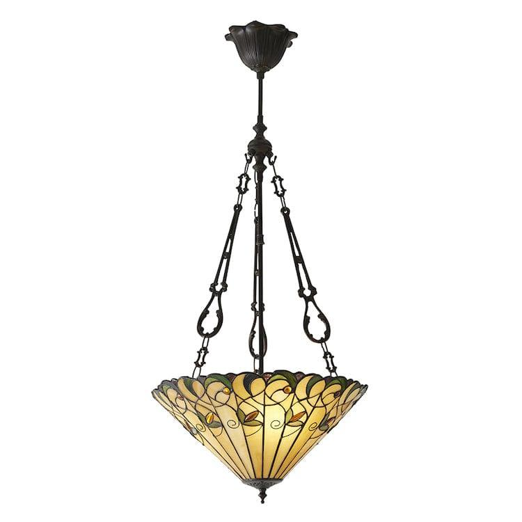 Inverted Ceiling Pendant Lights - Jamelia Medium 2 Light Inverted Pendant Ceiling Light 70741