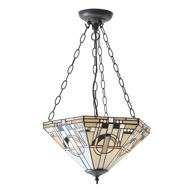 Inverted Ceiling Pendant Lights - Metropolitan Medium 3 Light Inverted Pendant Ceiling Light 70777