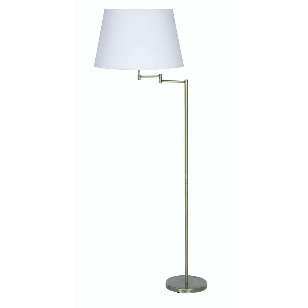 Armada Antique Brass Finish Floor Lamp (fitting only) 722 FL AB