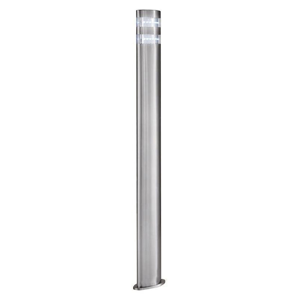 Searchlight India Stainless Steel LED Outdoor Bollard Light by Searchlight Outdoor Lighting
