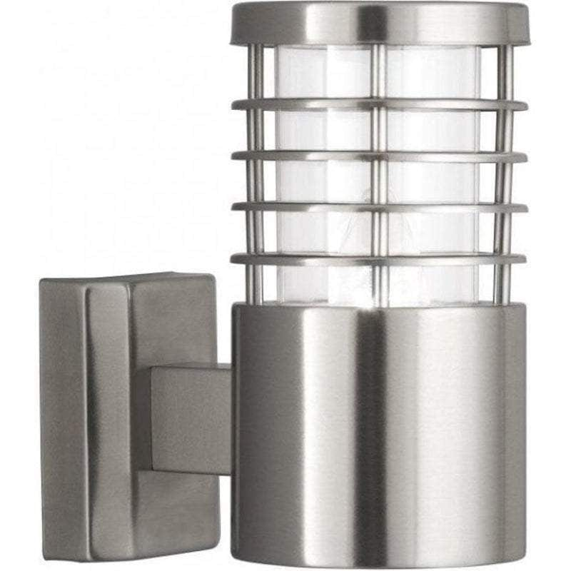 Searchlight Louvre Stainless Steel Outdoor Wall Light by Searchlight Outdoor Lighting