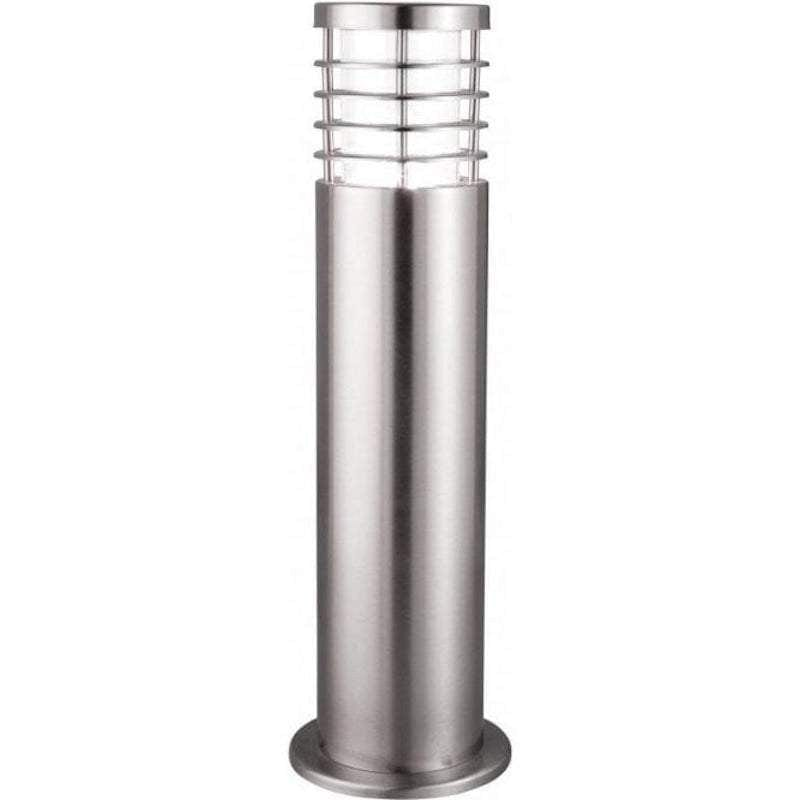 Searchlight Louvre Stainless Steel Outdoor Bollard Light by Searchlight Outdoor Lighting