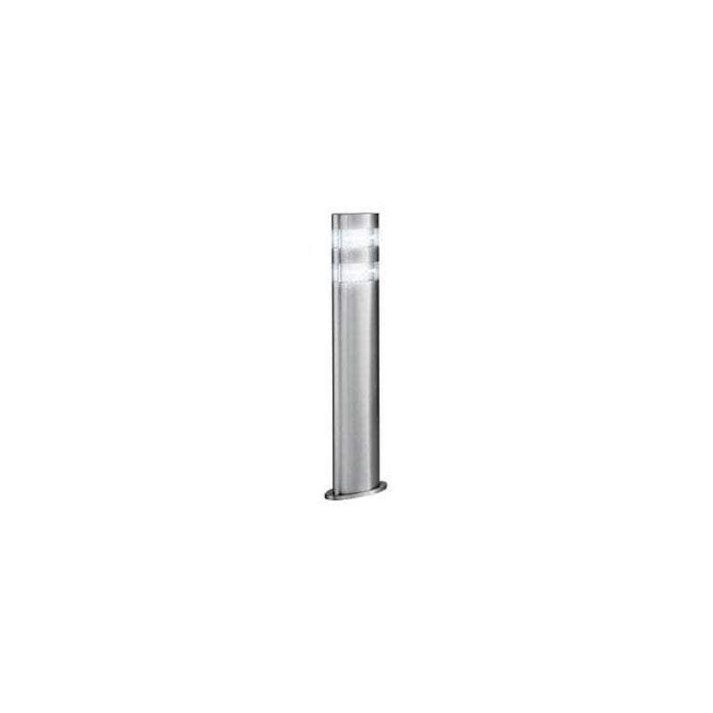 Searchlight India Small Oval Stainless Steel LED Outdoor Bollard Light by Searchlight Outdoor Lighting