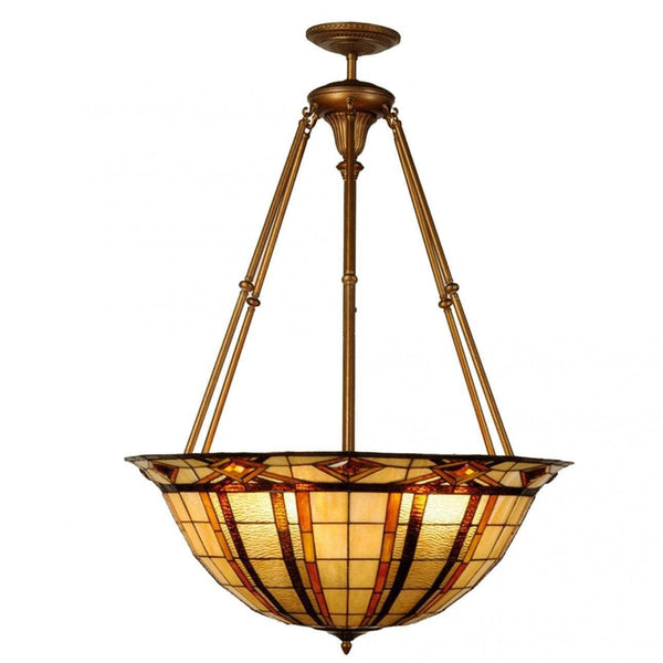 Tiffany Mega & Pool Table Ceiling Lights - Brunswick Tiffany Mega Pendant