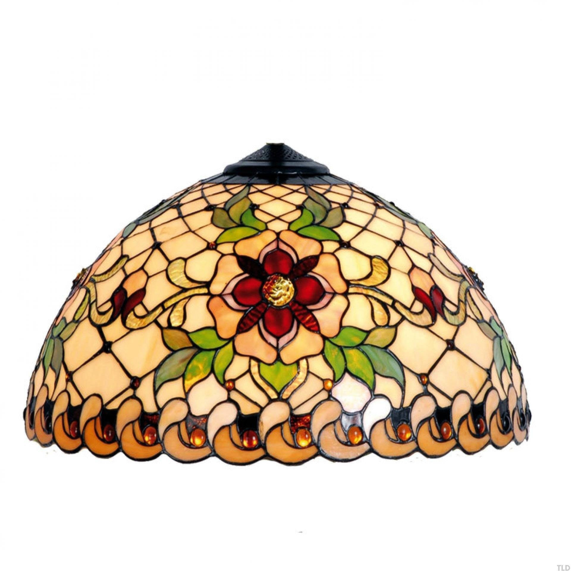 Tiffany Replacement Table Lamp Shades & Bases - Angelique Small Tiffany Replacement Table Lamp Shade