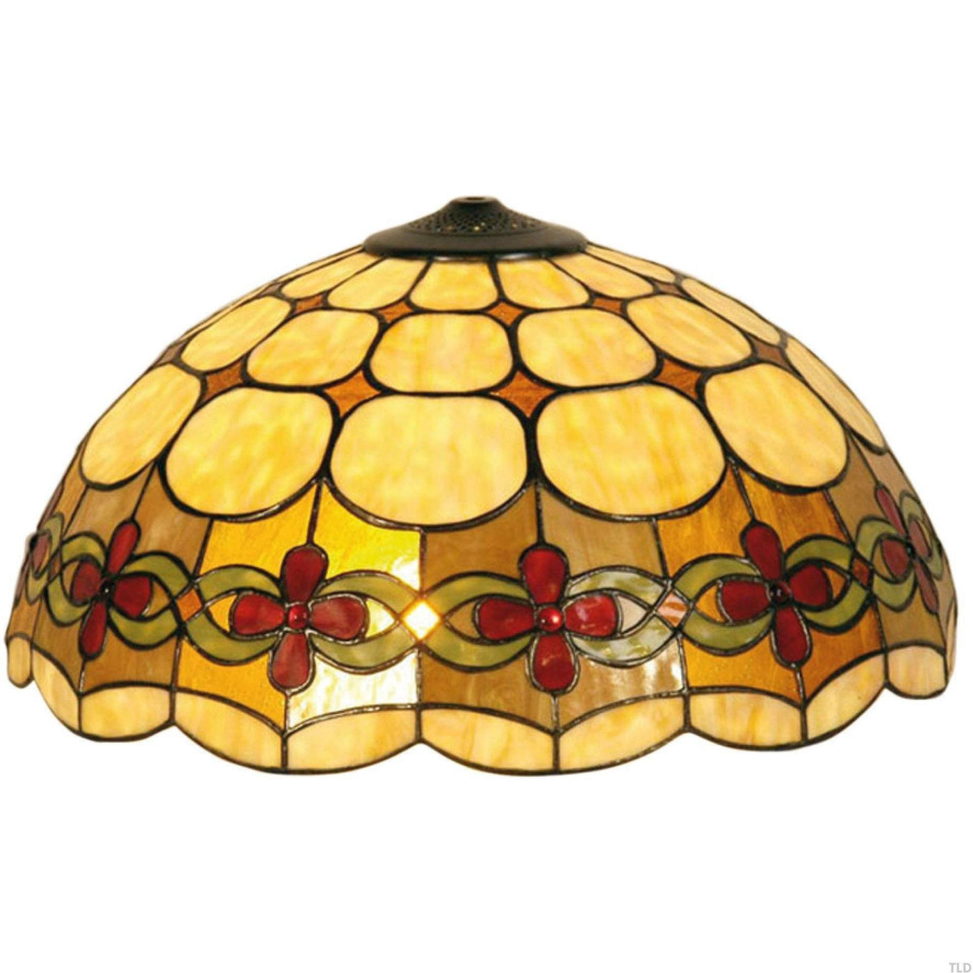 bbfe48fd102b Tiffany Replacement Table Lamp Shades   Bases - Atlantic Large Tiffany  Replacement Shade