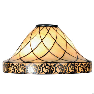Tiffany Replacement Table Lamp Shades & Bases - Cambridge Medium Tiffany Replacement Lamp Shade