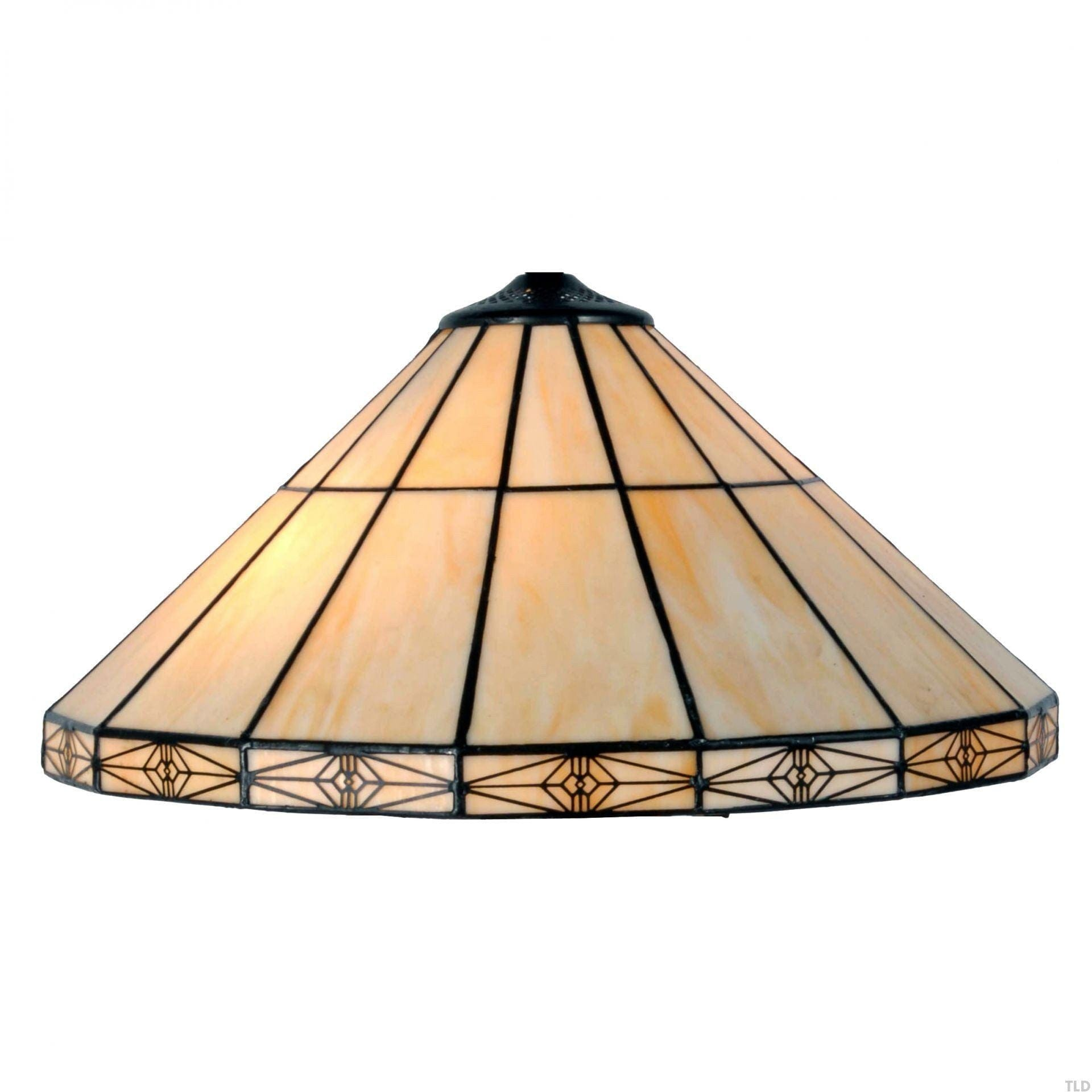Tiffany Replacement Table Lamp Shades & Bases - Dorchester Large Tiffany Replacement Table Lamp Shade