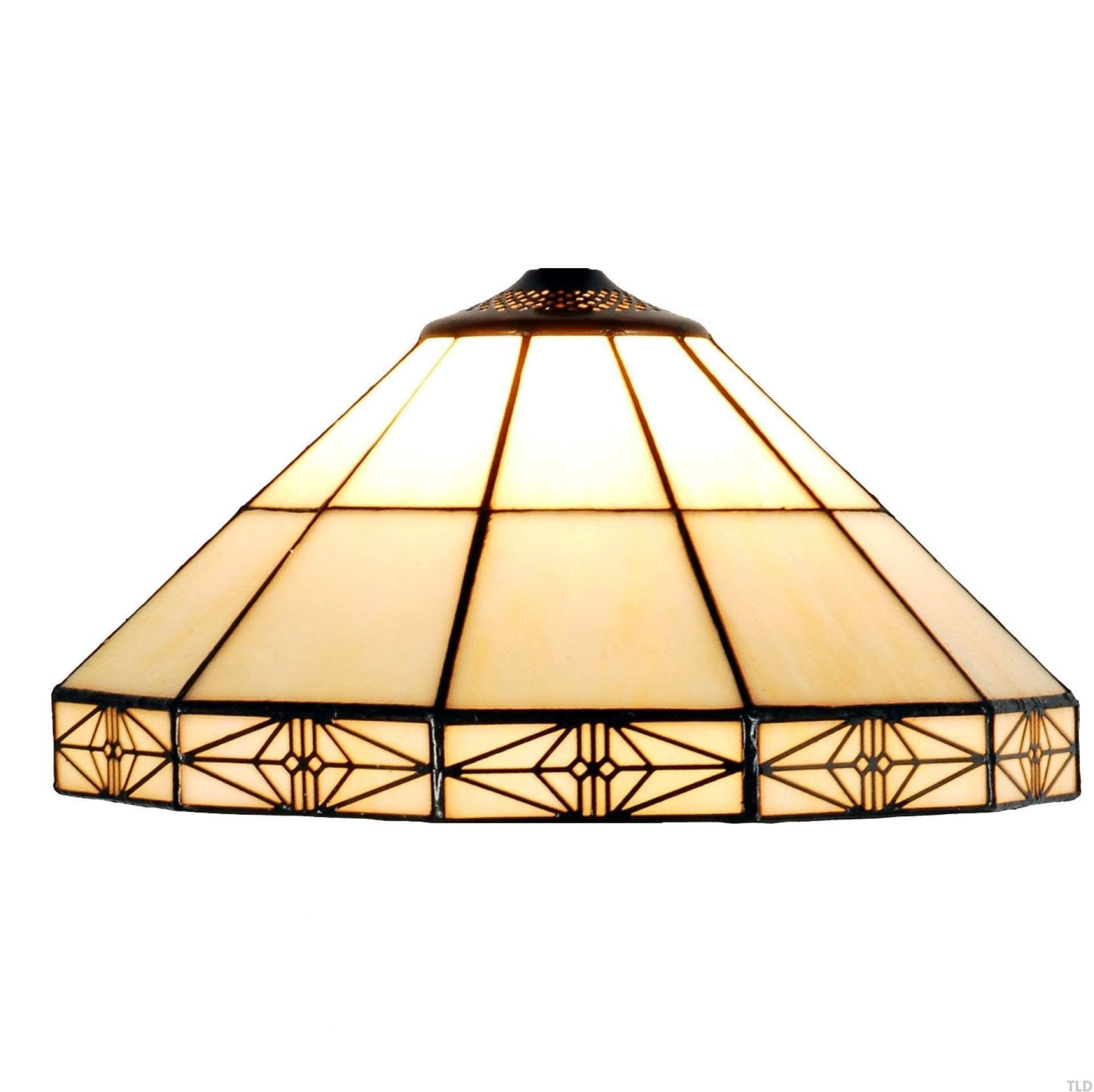 Tiffany Replacement Table Lamp Shades & Bases - Dorchester Medium Tiffany Replacement Table Lamp Shade